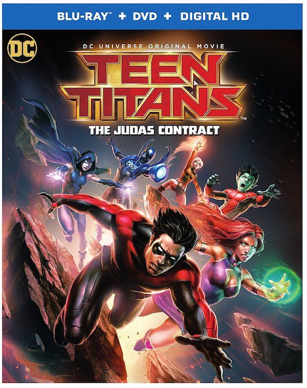 'Teen Titans: The Judas Contract' Movie Arrives On Blu-ray [Bonus Clip]