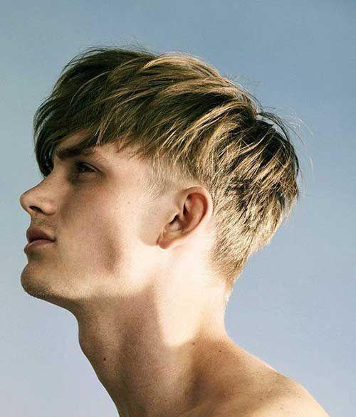 Best Men Medium Hairstyles Short Sides #Menshairstyles