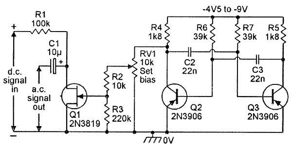 simple led wheel of fortune circuit diagram