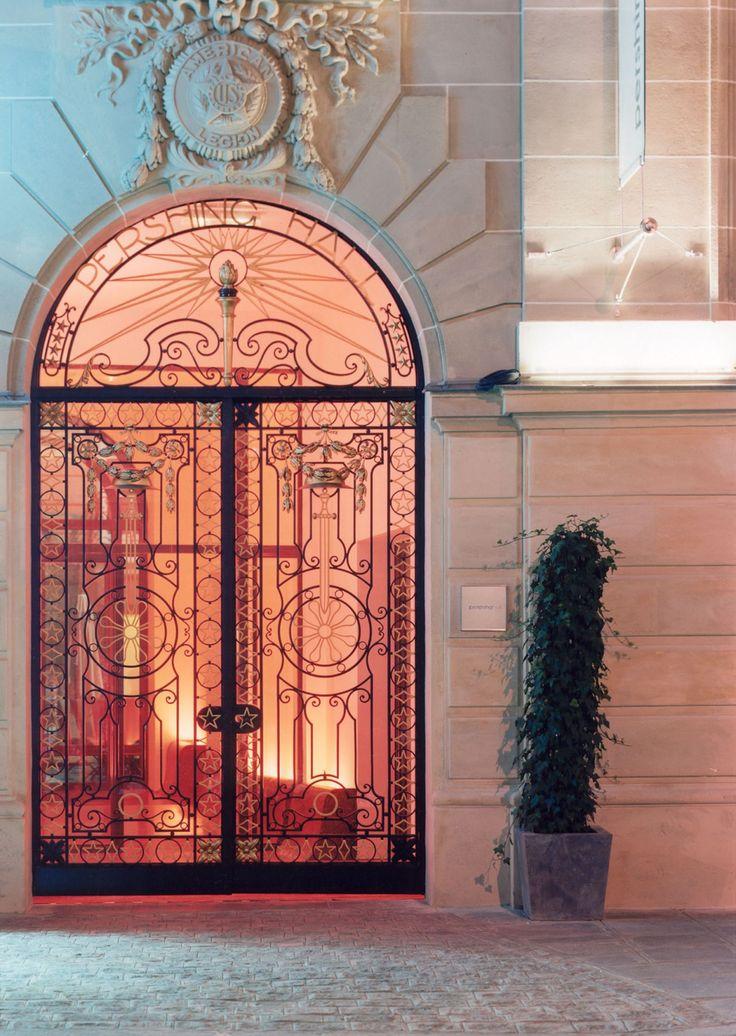 Andrée Putman Hôtel Pershing Hall, Paris.