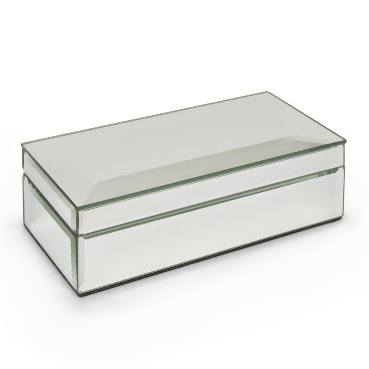 Laura Ashley - Mirrored jewellery box. show Home Bedroom