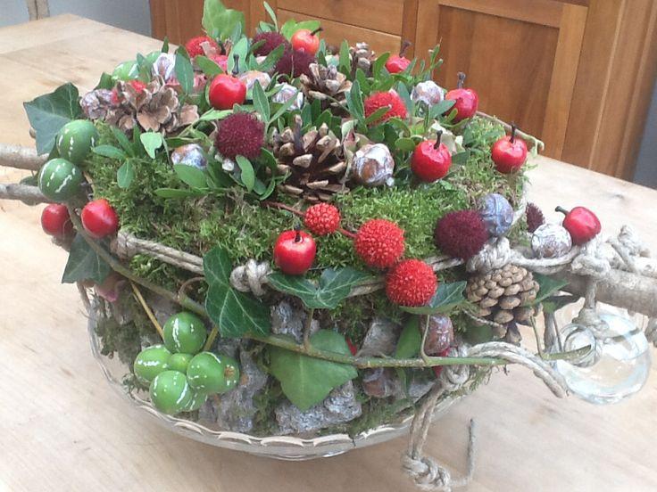 Autum pie made at Bie Stella - herfsttaart tafel decoratie voor de herfst…