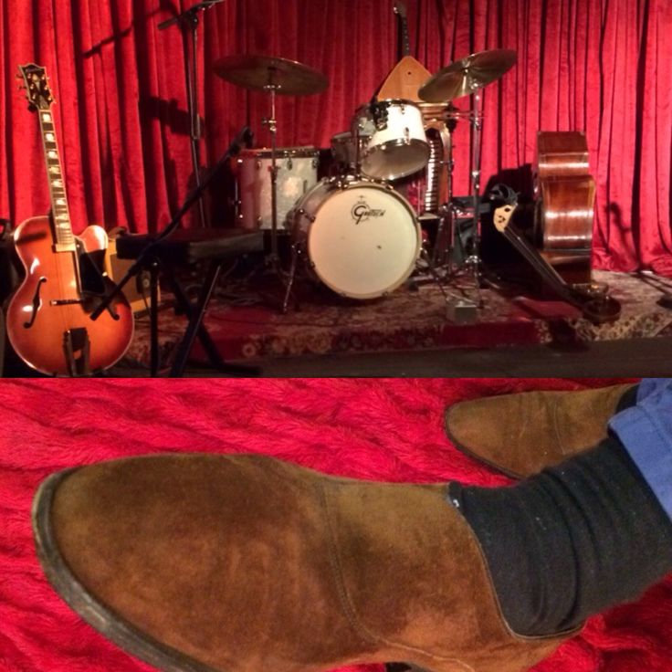 Take five, feet up. John Lobb Abbey suede loafers.