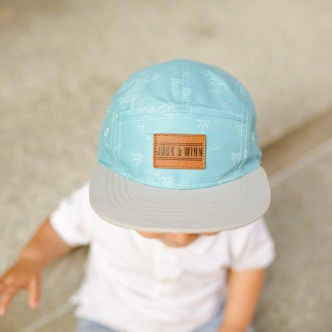 50c6d53bd9c Hipster baby hats! 5-panel Snapbacks for babies and toddlers ❤ 9mo+