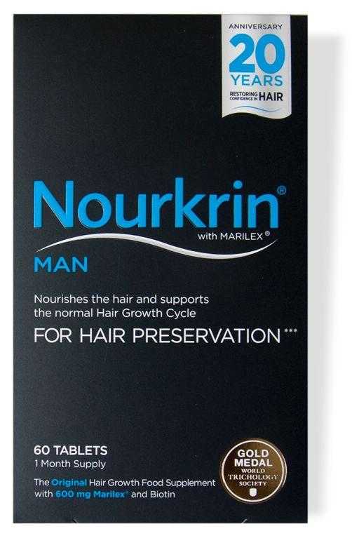 Το Nourkrin® MAN - Για τη Διατήρηση των Μαλλιών, είναι ασφαλές και χωρίς φαρμακευτικές ουσίες συμπλήρωμα για άντρες, που βοηθά να αντιμετωπίσουν αποτελεσματικά την προοπτική της τριχόπτωσης και αραίωσης των μαλλιών - επειδή οι άντρες δεν...