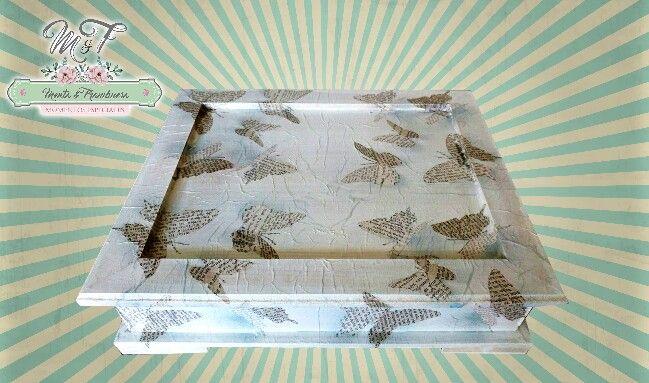 Caja de te mariposas
