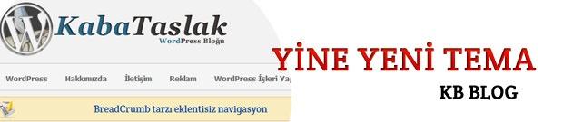 Yeni Wordpress Kişisel Blog teması ile farklı bir blog keyfi yaşayın.. www.kabataslak.net