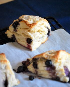 Lemon Blueberry scones yum totally France. They look just like the ones I got at Starbucks but better.