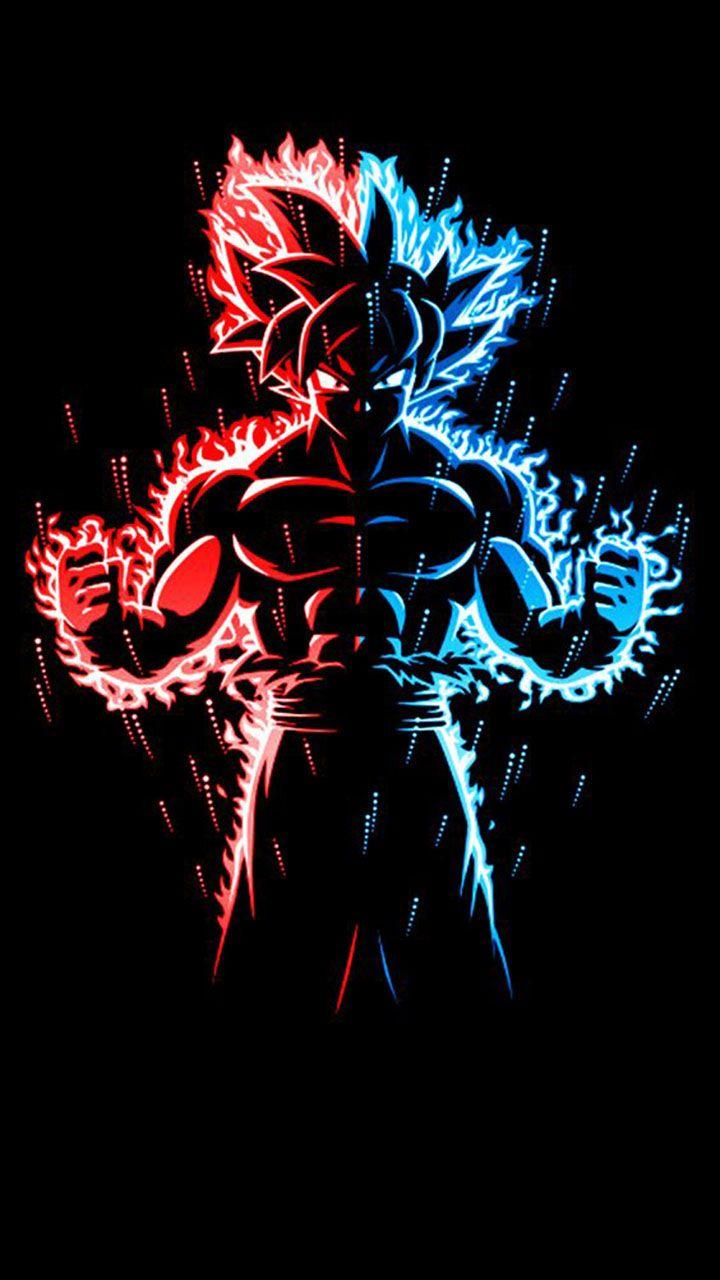 Goku Silhouette Wallpaper Dengan Gambar