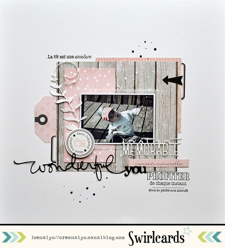 Page d'Icenalys. Collection Primavera de Swirlcards