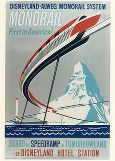 Monorail - Disneyland