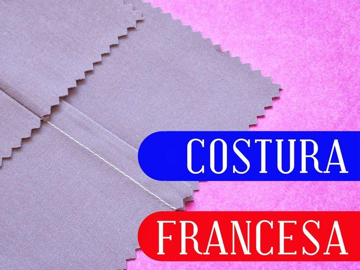 """Una costura francesa es otra de las que podemos catalogar como """"especiales"""". Aplicando su técnica logramos que sus orillos queden encerr..."""