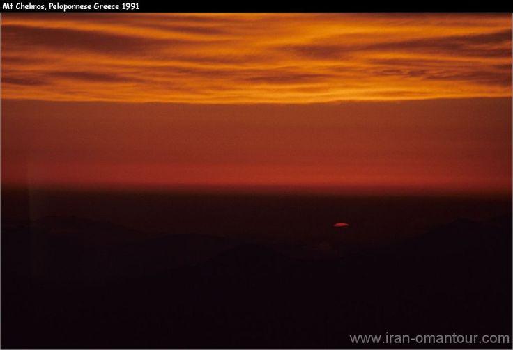 Mt Chelmos sunset