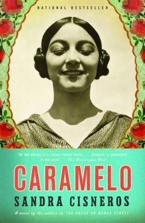 Caramelo by Sandra Cisneros. This novel is narrated by many generations of a family spending the summer together in Mexico City.