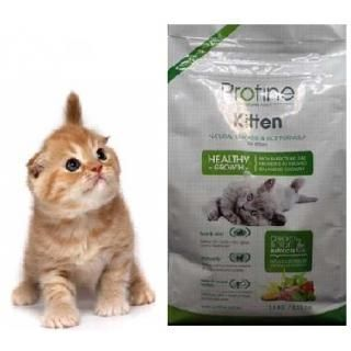 Profine Cat Kitten natural chicken & rice könnyen emészthető a kölyökmacskák számára is.  http://www.peteledel.hu/macska-szaraztapok/profine-cat-kitten-natural-chicken-rice-1.5-kg