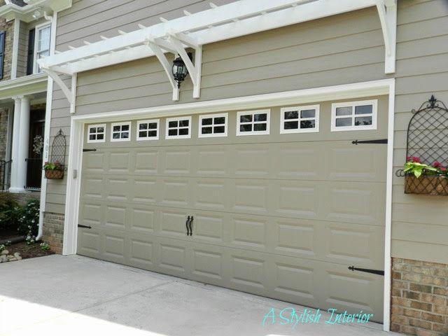 15 best garage door makeover images on pinterest