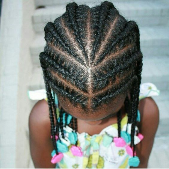 Braids, Cornrows, Natural Hair Styles, Little Girl