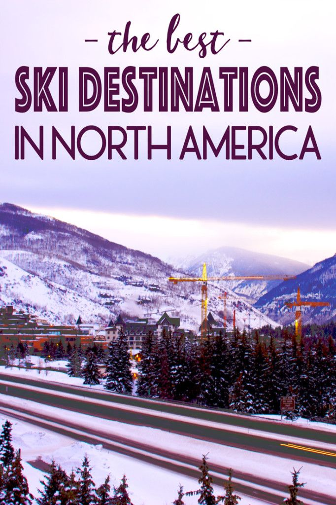 It's that time of year again! Time to unpack those dusty ski boots from the closet and hit the slopes. With amazing skiing destinations around the world, there are many mountains to flock too, but for those who want to stay (somewhat) close to home, or those traveling to North America for the winter, check out these skiing destinations! Here are my favorite ski destinations in North America!