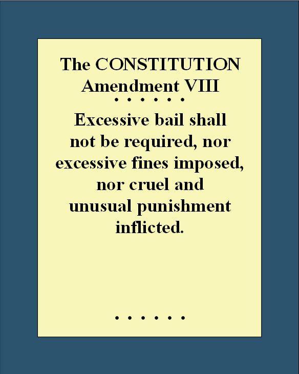 Eighth Amendment