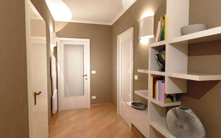 Abbinare porte e pavimento - Parquet in legno chiaro e porte bianche