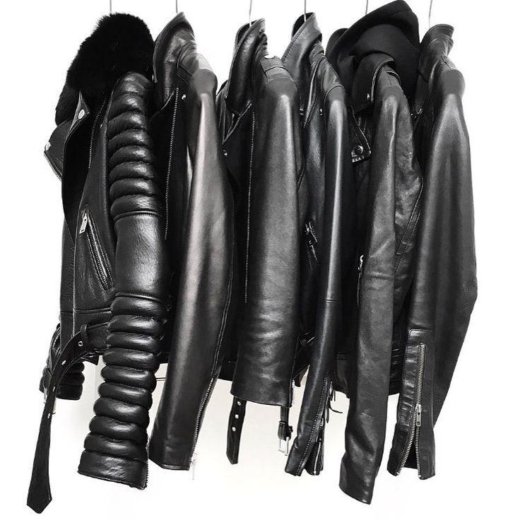 25+ best ideas about Black leather jackets on Pinterest ...