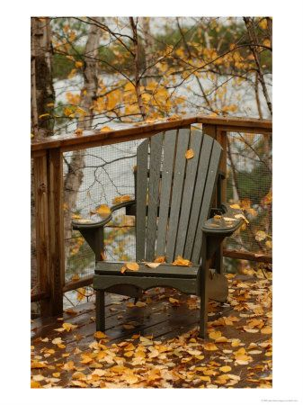 Adirondack, this time of year everything looks magical in its autumn dress