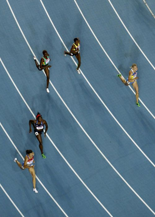 Jessica Beard reaches 400-meter semis at World Track and Field
