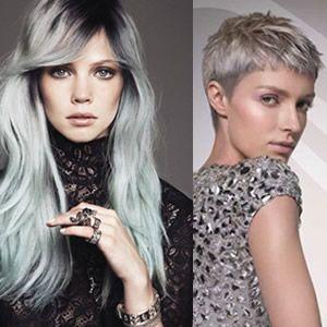 Hair care for gray hair