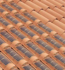 Roof Integrated Solar, Spanish Tile.