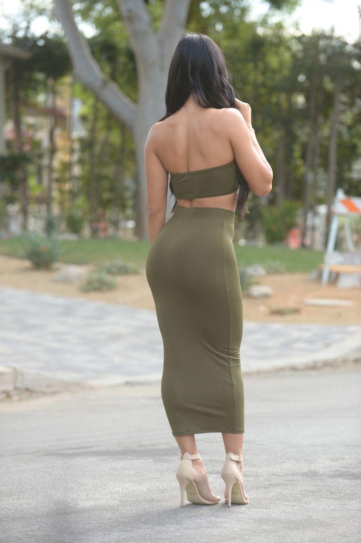 Olive Oil Skirt - Olive   Hot Skirts   Skirts, Black tops ...