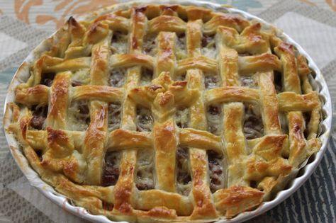 Galletas Mamipaz: Pork pie o pastel de carne ingles