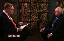 "Vermont senator and Democratic presidential candidate tells ""Face the Nation"" that ""I have voted to strengthen and expand the instant background checks. I voted to do away with the gun show loophole. I voted to ban assault-type weapons...I now believe that we have to move very vigorously in terms of this straw-man situation where people are buying guns legally and then selling them to criminals. I think my record is very strong."""