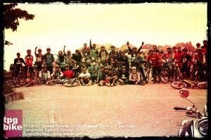 Sabtu, 8 Oktober 2016, 15KM On-road, 41 Goweser The Route START Mabes TPGBiKE - Gajah Mada - Yos Sudarso - Lumba Lumba - Cumi Cumi - Jembatan Mahkota 2 - Proyek 2 - Otto Iskandardinata - Jelawat - Basuki Rahmat - FINISH Nasi Uduk Polsek Bhayangkara. #iwanbt