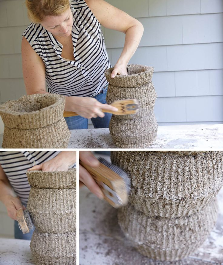 Photography by laura moss styling by meredith mcbride - Concrete projects for the garden ...