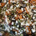 Ψητά λαχανικά  με φέτα  και μάραθο