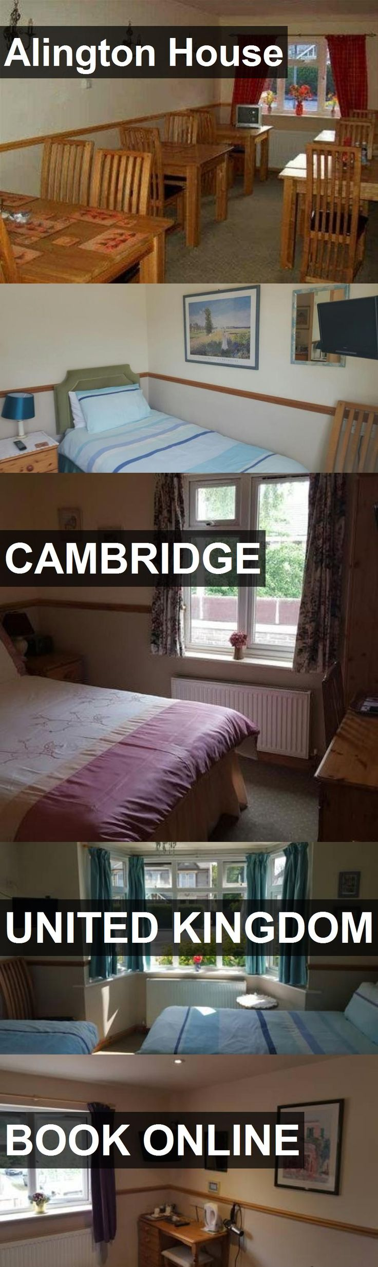 Hotel Alington House in Cambridge, United Kingdom. For more information, photos, reviews and best prices please follow the link. #UnitedKingdom #Cambridge #travel #vacation #hotel