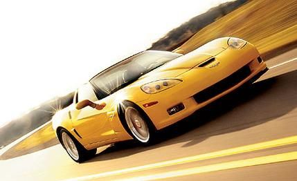 2006 Chevrolet Corvette Z06 #coches #cars