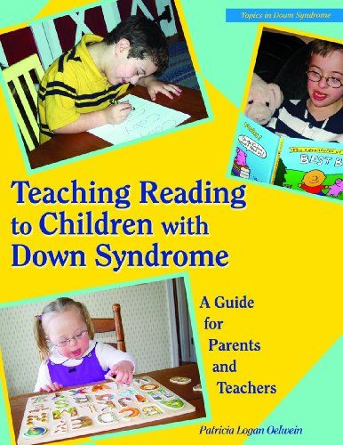 Teaching Reading to Children With Down Syndrome: A Guide for Parents and Teachers (Topics in Down Syndrome) by Patricia Logan Oelwein http://smile.amazon.com/dp/0933149557/ref=cm_sw_r_pi_dp_gQF5wb02BXMW3