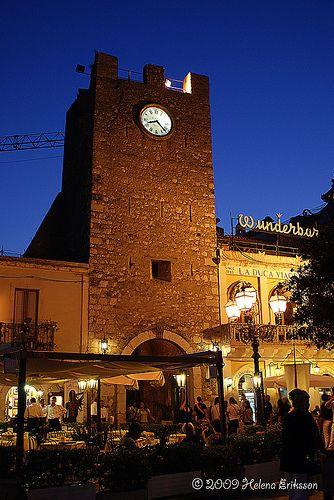 Taormina by Night