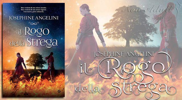 """Recensione: IL ROGO DELLA STREGA """"Worldwalker Trilogy"""" di JOSEPHINE ANGELINI  http://ift.tt/2zca0fy"""