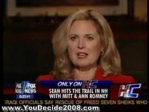 me | ... Mitt Romney and his wife Ann sit down with Sean Hannity on Hannity amp