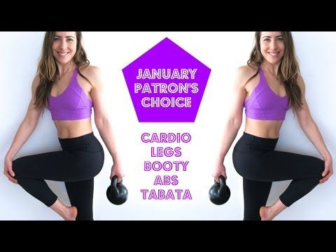 2/20/17 Complete 2/11/17 first 31 min Cardio + Legs, Booty, Abs & Tabata   January Patron's Choice HIIT - YouTube