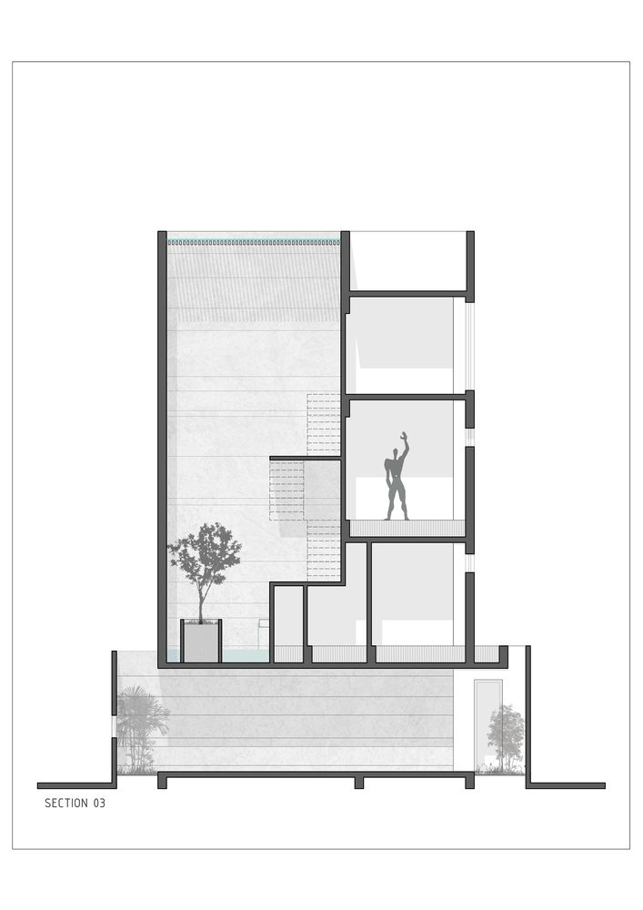 Gallery Of The H Cube House Studio Lagom 28 Architecture House Studio Floor Plans Cabin House Plans
