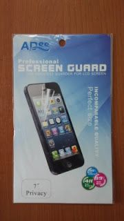 PROFIT CELLULAR: SCREEN GUARD ADSS BENING PERFECT SIZE 7 ""