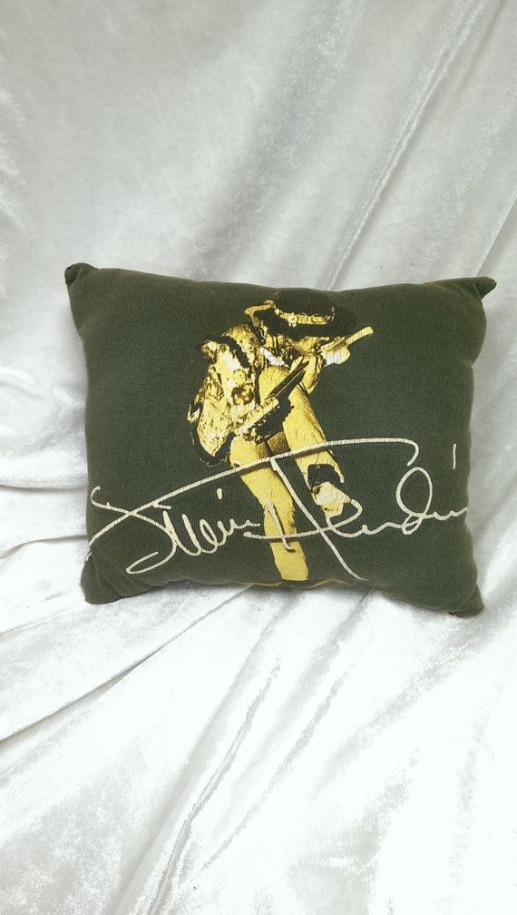 Jimi hendrix t shirt pillow by malicesrockinpillows on Etsy