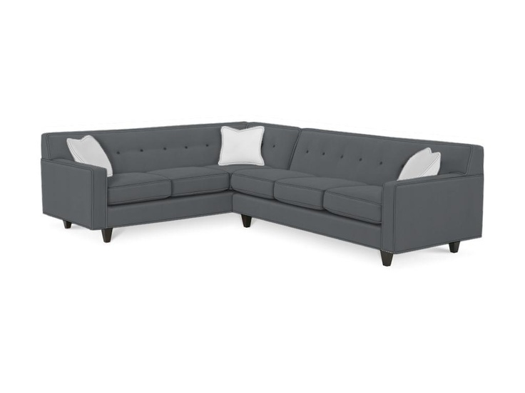 Tufted Sofa Shop for Rowe Dorset Sectional K Sect and other Living Room Sectionals at Signature Furniture in Lexington KY Create a modern vibe with the u