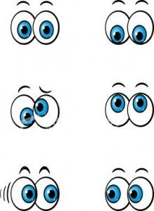 Cute Cartoon Eyes | How to Draw Cartoon Eyes | japho.com
