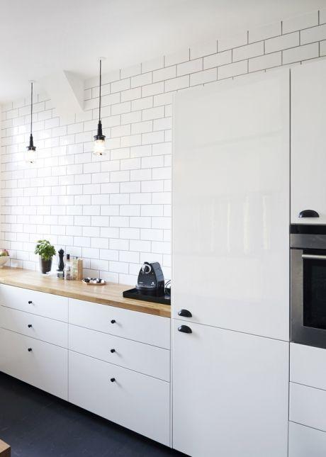 IKEA-køkken med smukt tilbehør