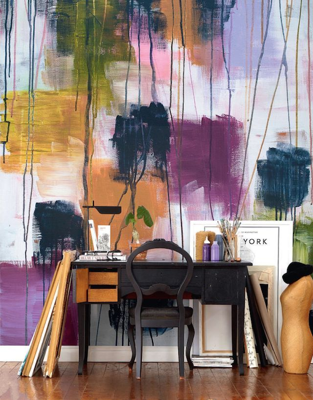Making A Statement With Colors: 27 Watercolor Walls Ideas | DigsDigs