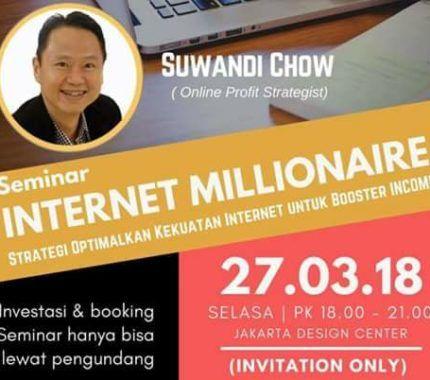 Event Seminar Internet Millionaire